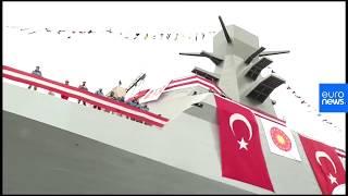 Türkiye'nin ilk istihbarat gemisi Ufuk korveti denize indirildi thumbnail