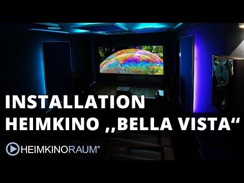 """Heimkino """"BELLA VISTA"""" – made by HEIMKINORAUM Mannheim"""