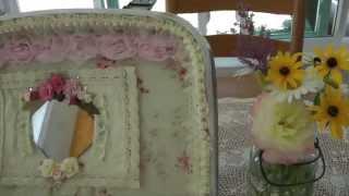 Altered Vintage Suitcase