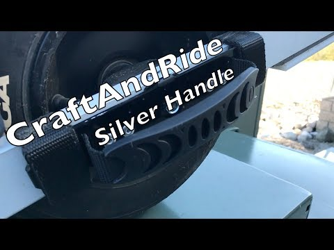 Craft And Ride Silver Handle Review- OneWheel On The Beach..