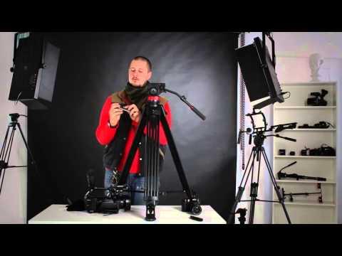 Обзор штатива для видеосъемки GreenBean HDV Elite 752