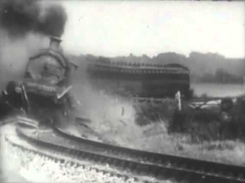 "The Most Spectacular Train Crash In History - ""The Wrecker"" - 1929 - CharlieDeanArchives"