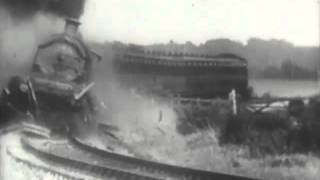 """The Most Spectacular Train Crash In History - """"The Wrecker"""" - 1929 - CharlieDeanArchives"""