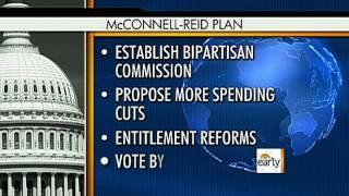 Senate leaders work backup plan for debt