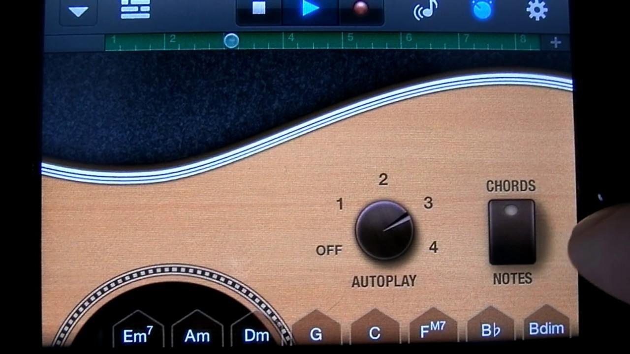 GarageBand Tutorial Part 3 Smart Guitar, Changing Chords ...