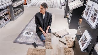 NEW HALL WAY FLOOR REVEAL AND COME HOMEWARE SHOPPING WITH ME | Lydia Elise Millen