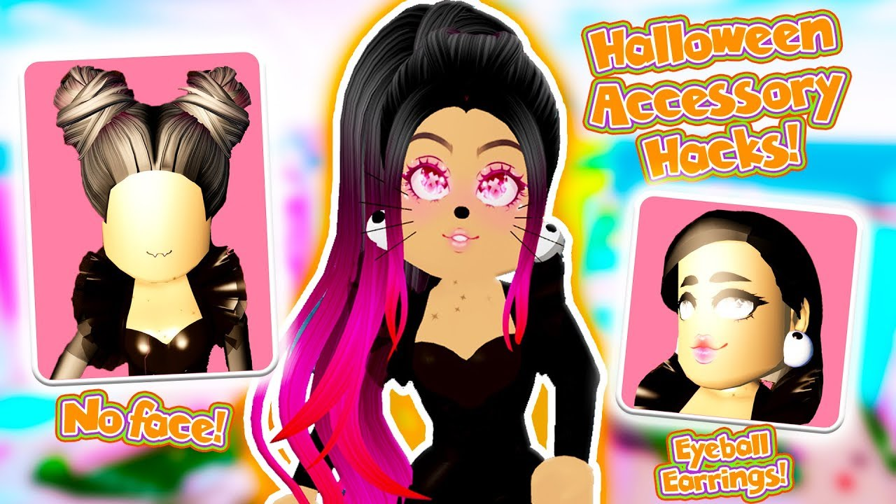 The Best Halloween Accessory Hacks You Need In Roblox Royale High School - roblox royal high outfit hacks