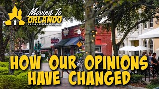 Orlando Neighborhoods \u0026 How Our Opinions Changed | Moving to Orlando | 01/27/21