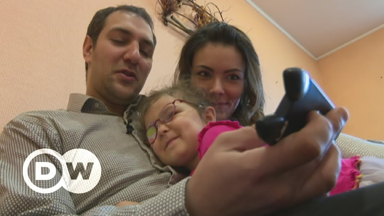Syrian, Ukrainian husband and wife flee conflict twice | DW English