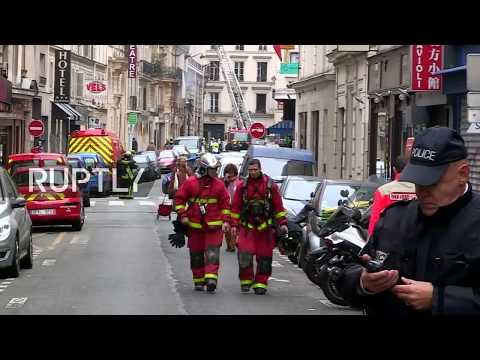 LIVE: Live from central Paris following huge explosion