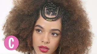 How to Create a Bejeweled Fro   Episode 13   Cosmopolitan