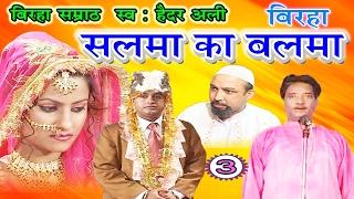भोजपुरी का सुपरहिट बिरहा | सलमा का बलमा (भाग-3) | Bhojpuri Birha | Haider Ali Birha
