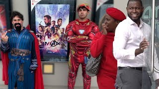 Spoiling Avengers: Endgame At The Movie Theatres!