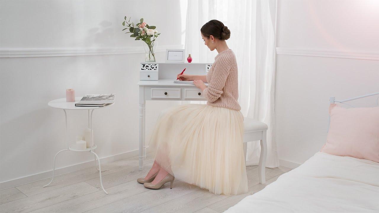Nieuw tectake - Make up table Coiffeuse meuble Sminkebord Tavolino da LC-25