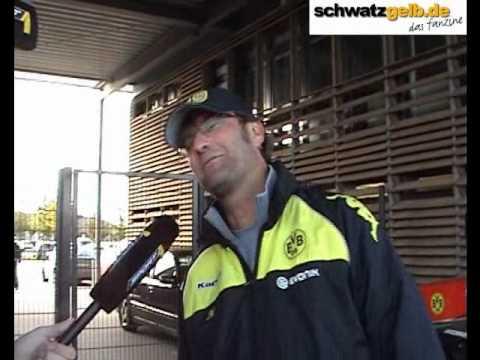 Nach dem Derbysieg: Interviews mit Jürgen Klopp und Roman Weidenfeller Borussia Dortmund BVB