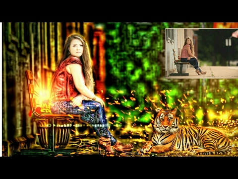 Real CB Heavy Edit Like Photoshop / Alone Girl With Tiger Heavy Photo Manupulation / CB New Edit