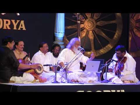 MVI 3239Dr. KJ Yesudas performing in TrivandrumSoorya Festival' 2017