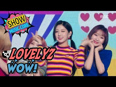 [HOT] LOVELYZ - WoW!, 러블리즈 - 와우! Show Music core 20170325