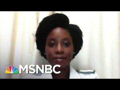 Nurse In Malawi: 'We Can Defeat The Pandemic' With Arrival Of COVID Vaccine   The Last Word   MSNBC