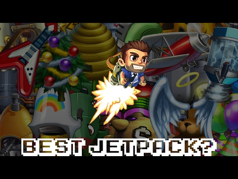 What is the BEST Jetpack in Jetpack Joyride? [Theory]