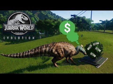 HOW TO MAKE LOTS OF MONEY EASY | Jurassic World Evolution | Ep4