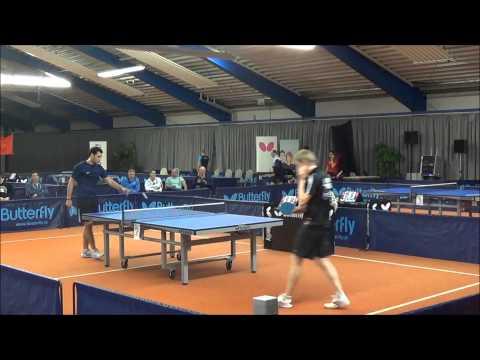 Clickball DM Erfurt Halbfinale Flemming - Milchin