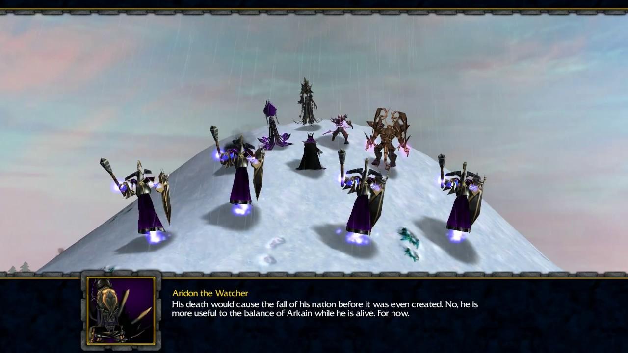 Warcraft 3: Legends of Arkain (Second Human Book) Epilogue A - Zyainor Reborn + Better Ending