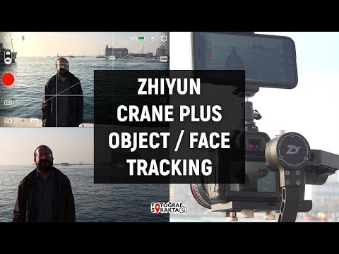 Zhiyun Crane Plus Object Tracking / Face Tracking by Volkan Yetilmezer