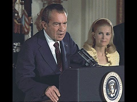 President Nixon's Farewell to the White House Staff