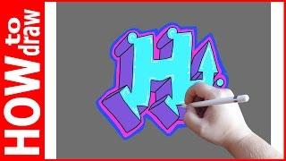 Как нарисовать граффити буквы, Н № 1(INSTAGRAM: https://www.instagram.com/dmitrysyrman/ Я в ВКОНТАКТЕ: http://vk.com/syrman_d Группа в ВКОНТАКТЕ: http://vk.com/public59608073 I'm on ..., 2016-09-25T02:26:49.000Z)