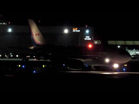Canforce 1 CC-150 (A310) landing & departing Montreal (YUL/CYUL)