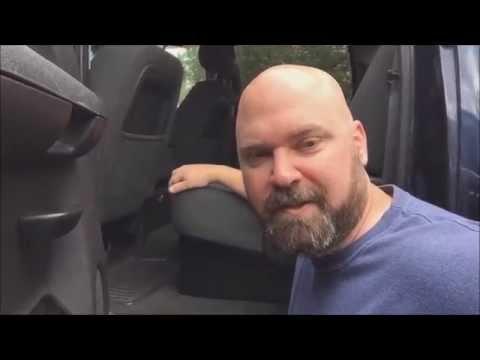 Truck under seat storage - DIY