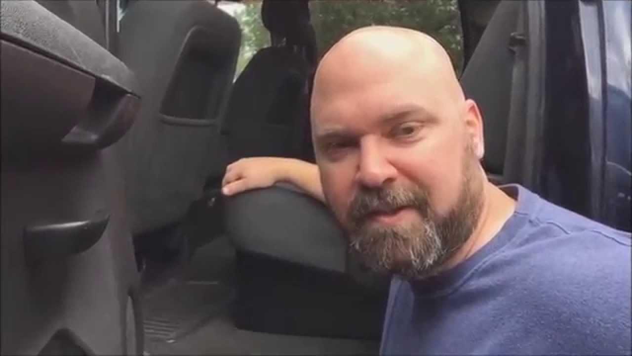 Truck under seat storage - DIY - YouTube
