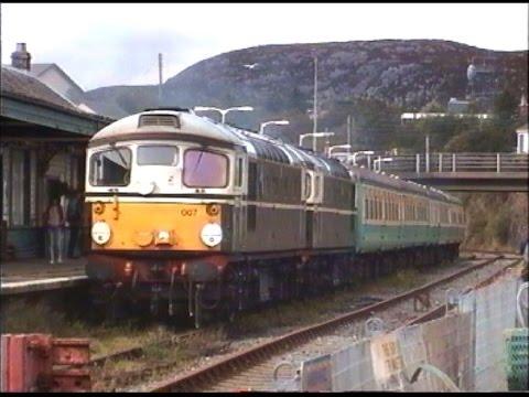 Inverness & Kyle of Lochalsh in August 1993