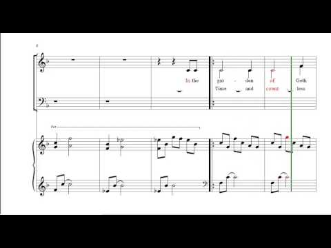 The Church Must Stand  Accompaniment (Vocal Piano Sheet Music)