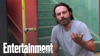 The Walking Dead's Andrew Lincoln Talks About Rick Grimes' Beard | Entertainment Weekly