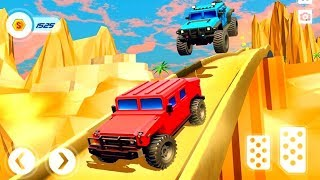 Offroad Hummer Stunt Tracks: Racing Games 2019
