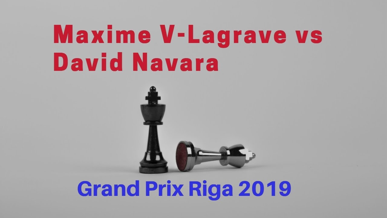 The Grand Prix Show has arrived in Riga | Maxime Vachier-Lagrave vs David  Navara