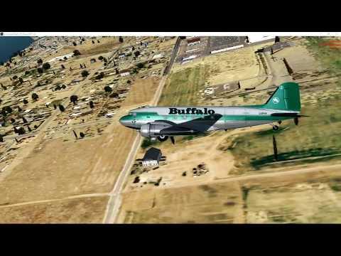 DC-3 Buffalo Airways   Hay River to Yellowknife