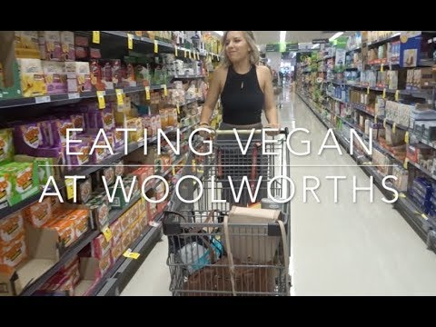 VEGAN FOOD FROM WOOLWORTHS