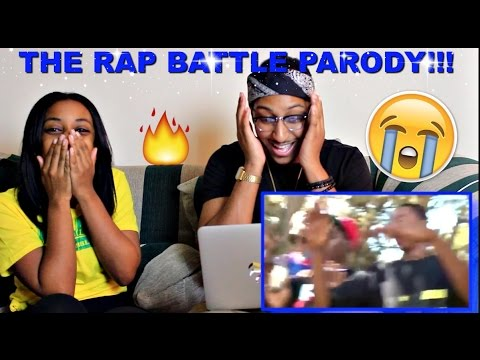 "Couple Reacts : ""THE RAP BATTLE PARODY"" (ORIGINAL) Reaction!!!"
