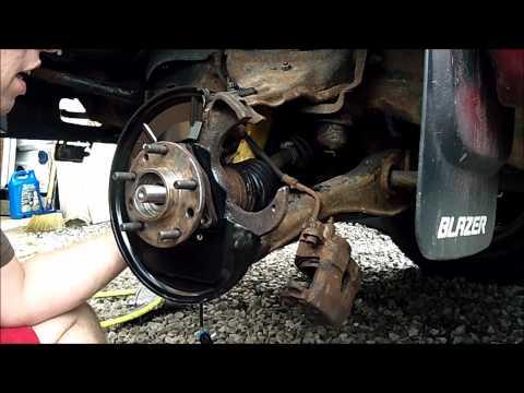 1997 Chevy Blazer driver front ABS Sensor & Wheel Bearing ...