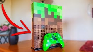 NEW MINECRAFT CONSOLE IN REAL LIFE