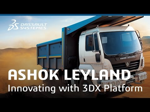 Ashok Leyland - Innovating with 3DEXPERIENCE Platform - Dassault Systèmes