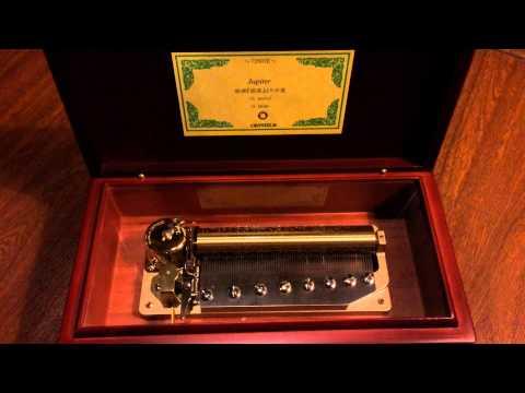 Jupiter ....... Orpheus 72 notes music box from Otaru Japan.
