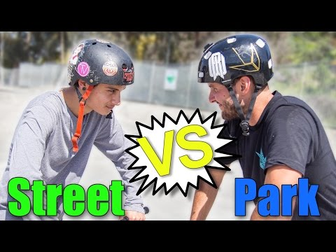 STREET vs PARK!! Calling the Shots! (ft. Raymond Warner and Andrew Zamora) │ The Vault Pro Scooters