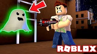GHOST BUSTERS SIMULATOR IN ROBLOX! (Roblox Adventures RedHatter)