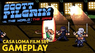 Scott Pilgrim vs. The World: The Game | Casa Loma Film Set Gameplay