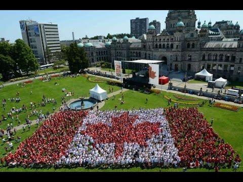 Canada Day Celebrations 2015 Victoria, B.C.