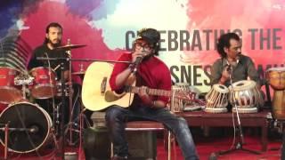 Shivam Pathak Performing Live Ajivasan Fest 2015 Sukoon Mila Mary Kom